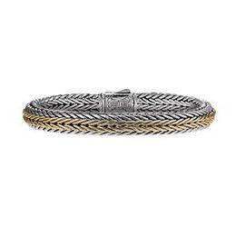 Scott Kay Kodiak Straight Two Tone Bracelet