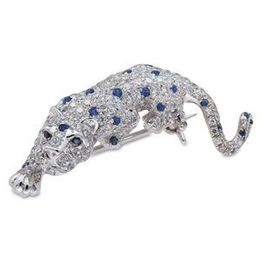 Spotted Lion Pendant/ Brooch