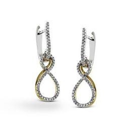 Simon G Infinity Earrings