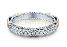Verragio Parisian- 103SW Wedding Band