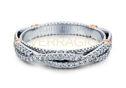 Verragio Parisian- 106W Wedding Band