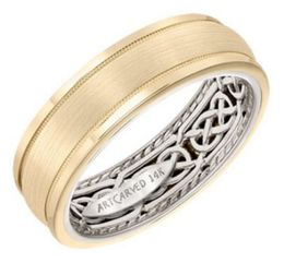 ArtCarved Wedding Band 11-WV21U7