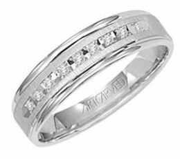 ArtCarved Wedding Band 21-V3107W